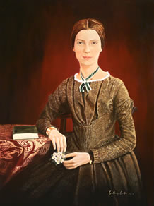 Portrait of Emily Dickenson by Guillermo Cuellar